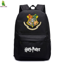 Harri Potter Mochilas Teenager Backpack for Boys Girls School Bags Designer Bag Pack  Students Notebook Zaino Traveling Backpack