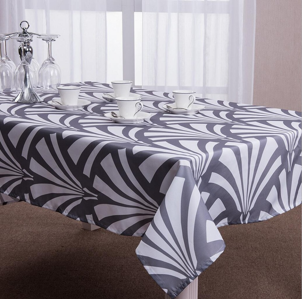 online buy wholesale modern table cloths from china modern table  - geometric modern table cloth oxford tablecloth for the table rectangle tablecover xcm  sizes available