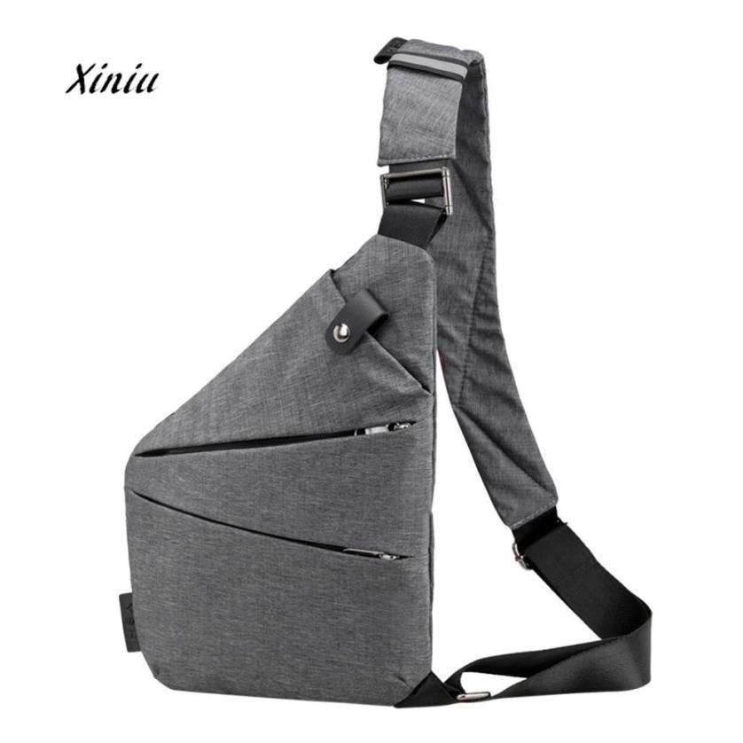 Unisex Messenger Bag Star Pattern Shoulder Chest Cross Body Backpack Bag
