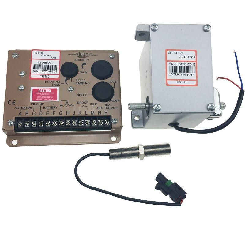 Китайская фабрика! Электронный регулятор генератора/регулятор скорости ESD серии 5500E