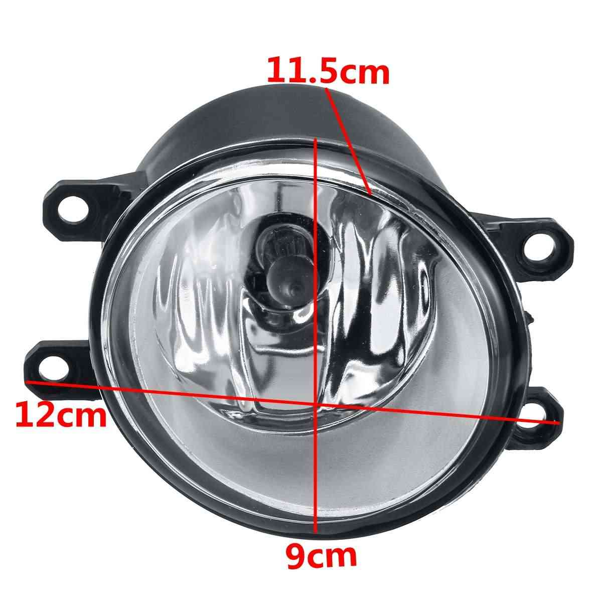 Car 2Pcs Front Fog Light for Toyoya Sienna Avalon Camry Corolla Highlander Matrix Prius Rav4 For Lexus ES350 GS350 IS350 GX460