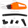 2016 Portable Car Vacuum Cleaner Wet And Dry Dual Use With Power 120W 12V 5 m of cable, super absorb car waste Free Shipping