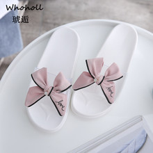 Women Slippers Flip Flops 2019 Summer Slides Women Shoes Butterfly-knot Diamond Bling Beach Slides Sandals Casual Shoes Slip On rhinestone women slippers flip flops summer women crystal diamond bling beach slides sandals casual shoes slip on slipper