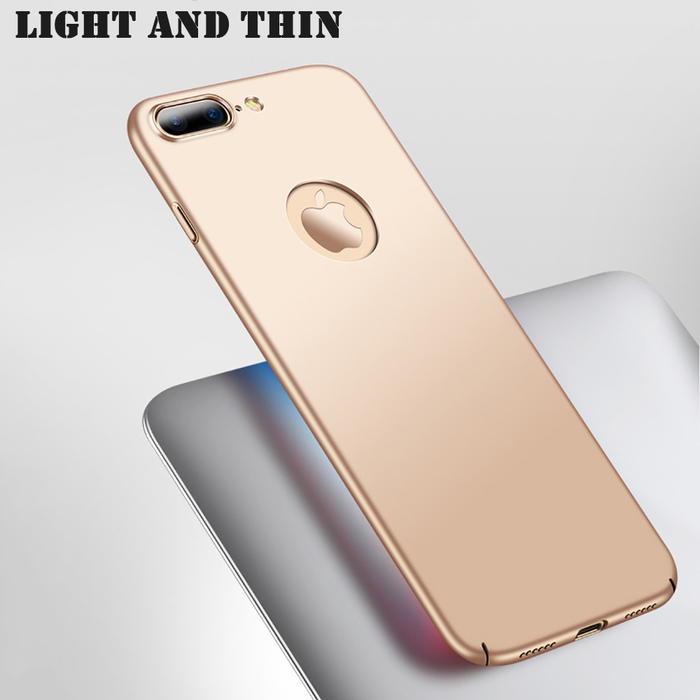 KIP7P1166_10_Luxury Frosted Case For iPhone 7 8 Hard Plastic Full Protection Back Cover for iPhone  6 6S Case For iPhone 7 Plus 8 Plus