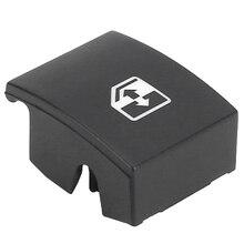 ボクソールオペル 1pcブラックプラスチック電気ウィンドウスイッチボタンカバー 13228881 6240452 サポートアストラMK5 hザフィーラ/ティグラb
