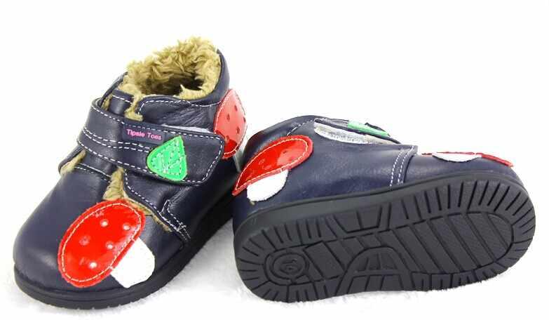 Tipsietoes 2020 mocassins crianças vestido de inverno sapatos para quente crianças neve botas de couro outono à prova dwaterproof água do bebê meninos meninas