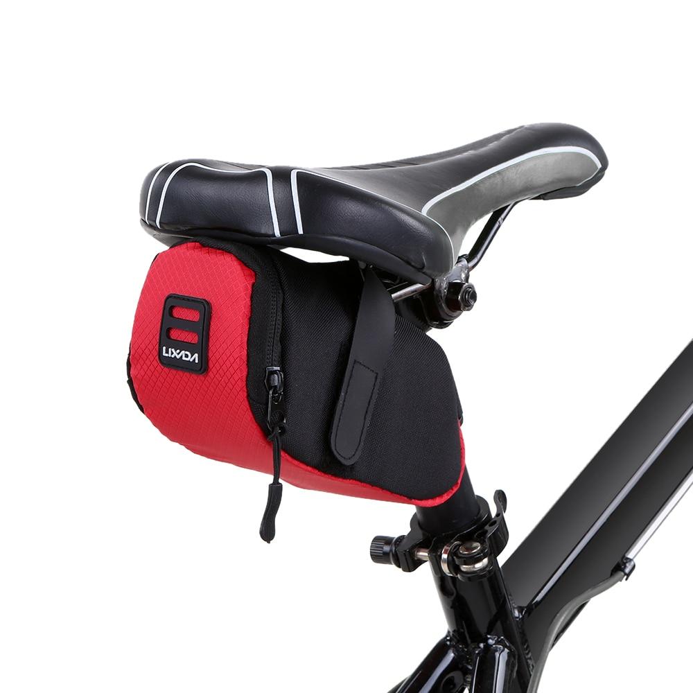 Waterproof MTB Bike Bicycle Rear Bag Cycling Rear Seat Tail Saddle Bag Pouch UK