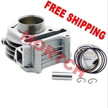 FREE SHIPPING 139QMB 80cc GY6 Big Bore high performance cylinder kit for 50cc GY6 for Scooter