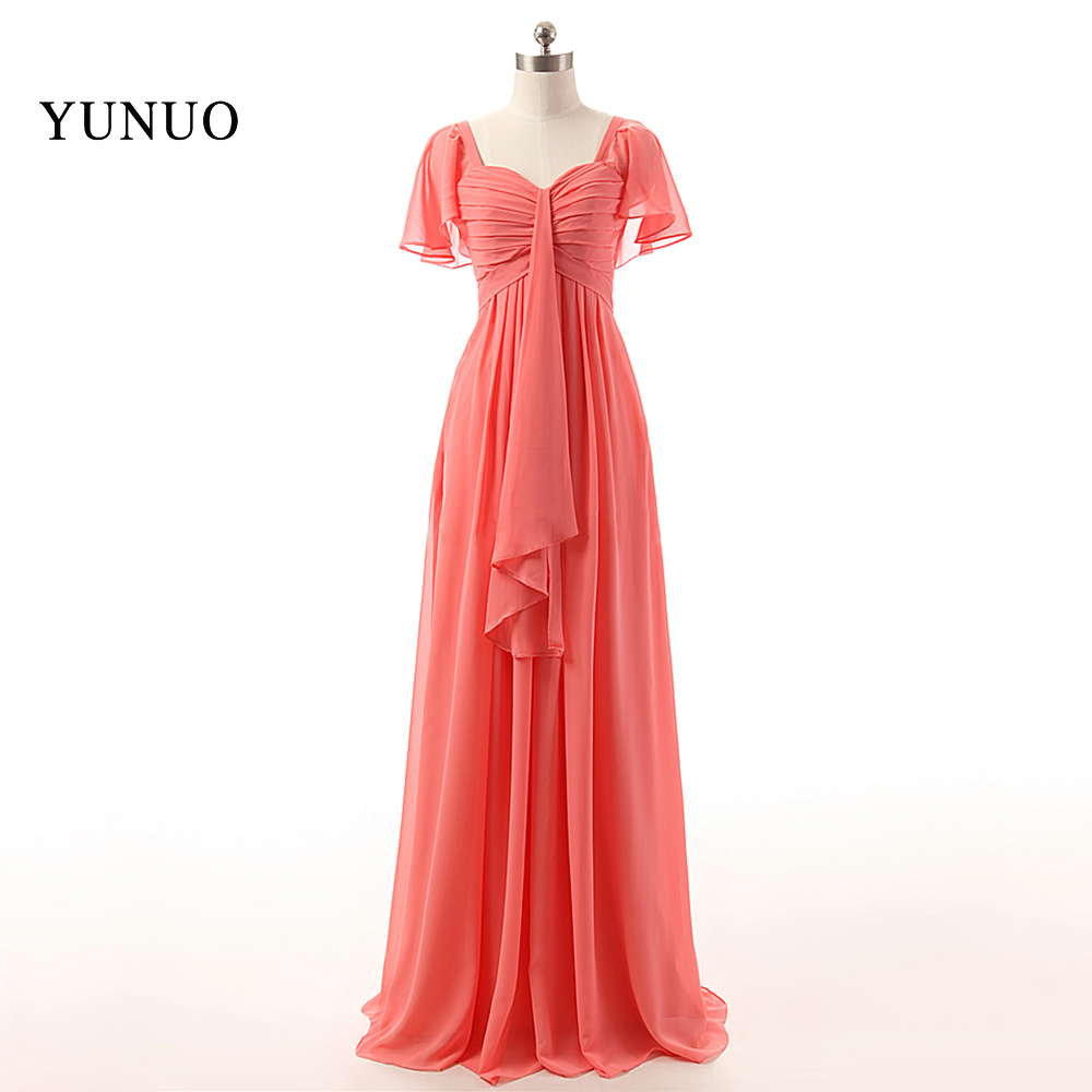 New Arrival Sexy Sweetheart cap Sleeve Long A-line Prom Party gown Plus Size Chiffion   Bridesmaid     Dresses   x07017