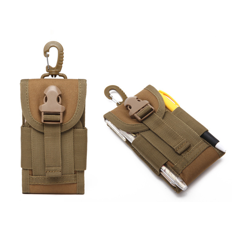 Phone Pouch Hunting Mobile Bags Holster Case Outdoor Camping Hiking Molle Telephone