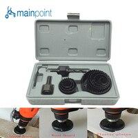 Mainpoint 11Pcs DIY Woodworking Hole Saw Drill Bit Kit 19mm 64mm Cutting Wood PVC Plate