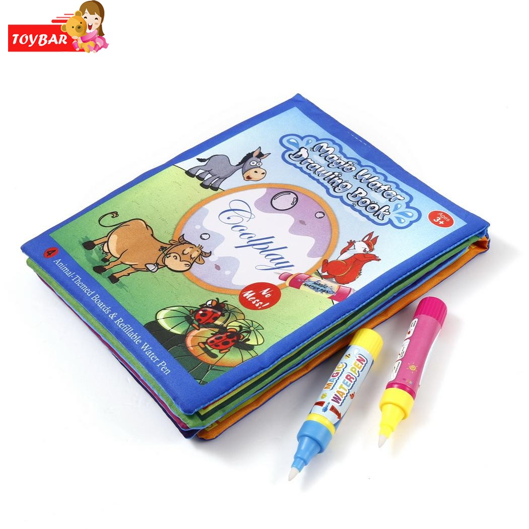 funny magic water drawing book kids water writing painting book