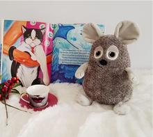 Плюшевая игрушка Candice guo, мягкая кукла, мультяшное животное, толстая мышь, крыса, Крот, модель для детей, подарок на день рождения, Рождество, 1 ...