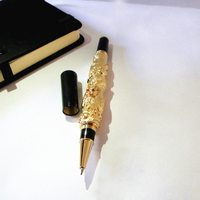 Best gifts for dad luxury gold color metal pen birthday gifts for dad great unique engagement gifts with cute gift box