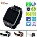 Dz09 bluetooth smart watch para ios android phone sim suporte/tf Homens Esporte Smartwatch com Câmera cartão MP3 Anti-lost pk GT08 A1