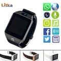 Dz09 bluetooth smart watch para ios android teléfono soporte sim/tf tarjeta de MP3 Deporte de Los Hombres Smartwatch con Cámara anti-perdida pk GT08 A1