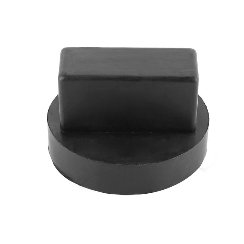 New 1 Pc Rubber Jack Pad For Mercedes Enhanced Jack Regular Vehicle Car Block 4 Support Type Frame Rail Adapter Accessories