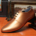2917 Fashion Italian Designer Formal Mens Dress Shoes Genuine Leather Black Luxury Wedding Shoes Men Flats Office For Male