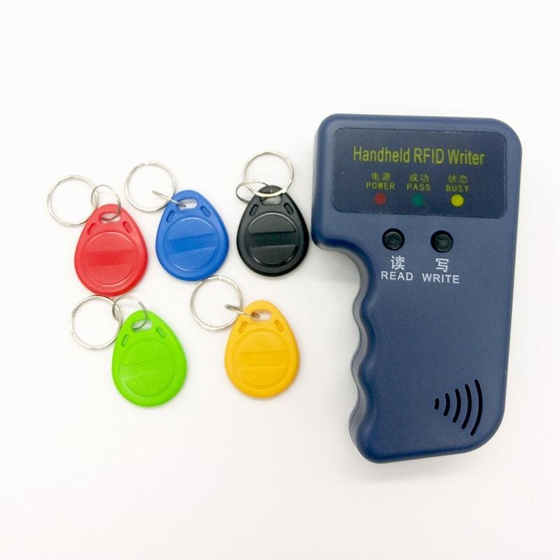 125Khz RFID Card Reader  ID Card Copy / Duplicator / Copier Writer / Programmer + 5pcs EM4305 each Writable tags   Free shipping|readers google|readers frames|readers learn - title=
