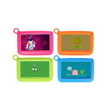7 inch Babypad Quad Core IPS 1024*600 Dual Cam Tablet PC 8GB Wifi Bluetooth 7″Kid Tablet pc Silicone Case Gift for Children