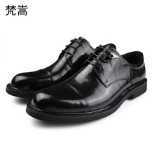Mens Business Suit High Quality Genuine Leather Lace-Up Men Shoes,Men Dress Shoes Wedding all-match cowhide