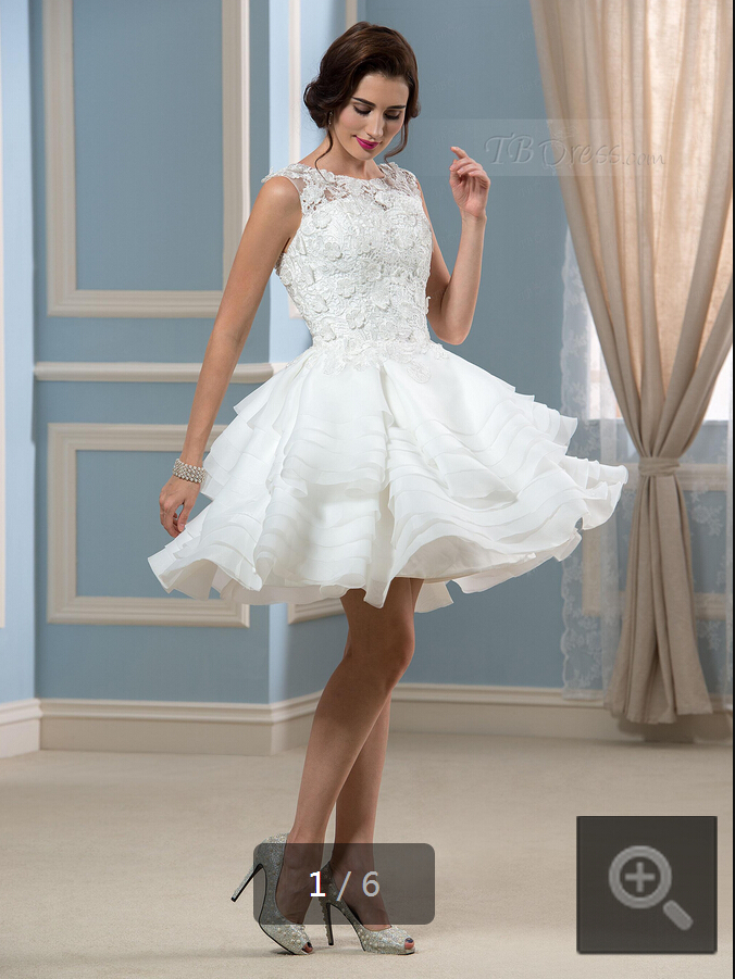 Short Winter Wedding Dresses With Sleeves - Short Hair Fashions