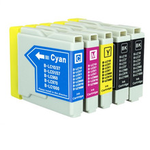 5X Compatible Ink Cartridge LC10 LC37 LC51 LC57 LC960 LC970 LC1000 For Brother DCP-130C DCP-135C MFC-235C MFC-240C printer