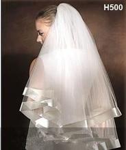 2015 Белый свадебная фата невесты Вечерние Тюль вуаль 2018 новое поступление