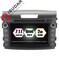 Android 7 1 1 Two 2 Din 7 Inch Car DVD Player For Honda CRV CR