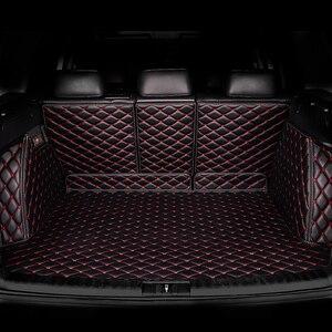 Image 3 - Коврик для багажника автомобиля kalaisike под заказ для Mercedes Benz все модели C ML GLA GLE GL CLA R A B GLS GLC класс автомобильные аксессуары Стайлинг