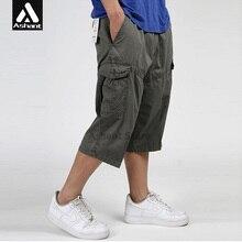 New Cargo Shorts Summer Styled Plus Size 4XL 5XL 6XL Man Military Army Green Pockets Khaki Short Big Pockets