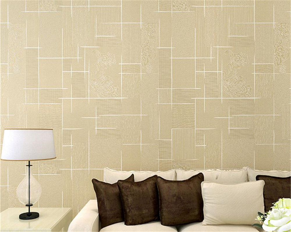 Beibehang papel parede Wallpaper Modern Bedroom Background 3d ...