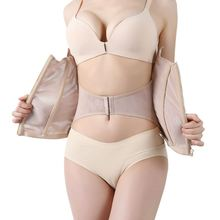 Waist Trainer Body Shapers Corset Zipper Buckle Slimming Belt Bell Shaper Modeling Strap Underbust