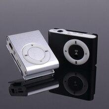 3.5mm Mini MP3 Players Micro USB Metal Clip MP3 Support TF-Card Slot Digital Mp3 Music Player earphone accessories