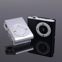 3.5mm Mini MP3 Players Micro USB Metal Clip MP3 Support TF-Card Slot Digital Mp3 Music Player Portable Audio