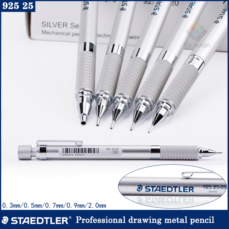 STAEDTLER graphit 925 25 05 Drafting Mechanical Pencil 0.5mm with case packing