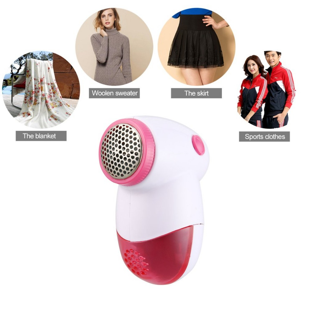 Mini Portable Sweater Clothes Lint Pill Fluff Remover Hair Ball Trimmer Fabrics Fuzz Shaver Electric Lint Remover 5