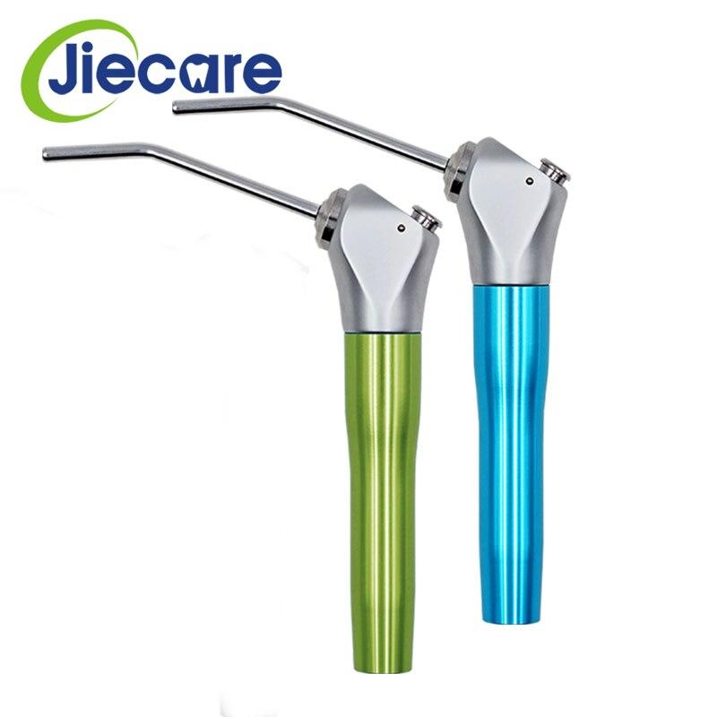 1 ensemble d'équipement dentaire de dentisterie jet d'eau d'air Triple seringue à 3 voies pièce à main colorée Autoclavable avec 2 buses embouts Tubes