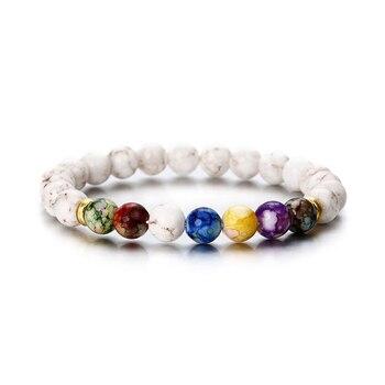 Sale Buddha Bracelets 7 Chakra Healing Mala Meditation Prayer Yoga Jewelry