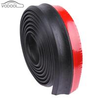 2 5m Car Front Bumper Lip Splitter Automobiles Body Spoiler Skirt Rubber Protector Foam Automobiles Styling