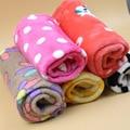 Lindo Caliente Cama Del Animal Doméstico Estera Pequeña Mediana Grande Pata Towl hecho a mano Del Gato del Perro Fleece Blanket Soft Cachorro Mascotas en Invierno