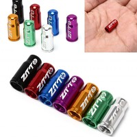 1PCS Bicycle Wheel Tire Covered Protector Road MTB French Tyre Dustproof Bike Valve Cap Accessories 7 Colors