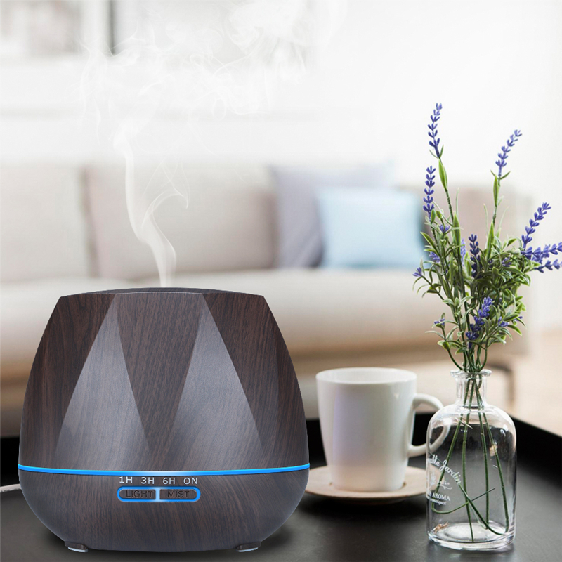 Image 4 - Diffuserlove 500ML Remote Control Electric Aroma Air Diffuser Ultrasonic Air Humidifier Essential Oil Aromatherapy Cool Mist Mak-in Humidifiers from Home Appliances