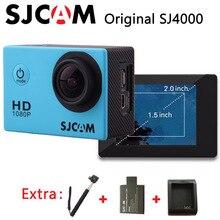 ต้นฉบับSJCAM SJ4000กีฬากล้องการดำเนินการกันน้ำแบบFull HD 1080จุด30fpsกล้องไปสไตล์โปร+พิเศษ1ชิ้น+แบตเตอรี่ชาร์จ+ Monopod
