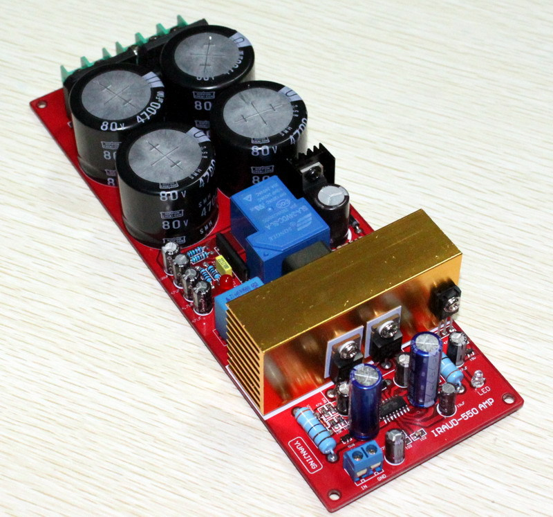 Free-Shipping-IRS2092-class-d-amplifier-Class-D-audio-power-amplifier-board-300w-speaker-protection-We (2)