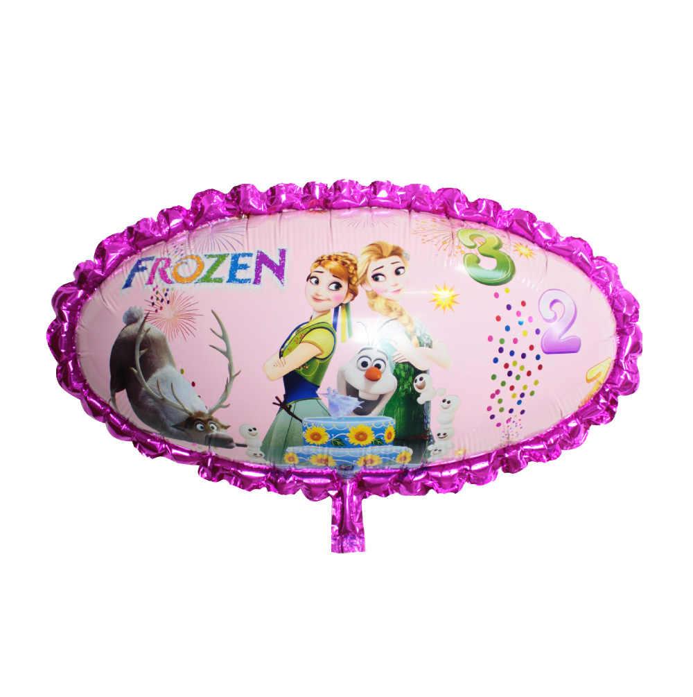 Горячие 2 шт/партия 75*53 см воздушные шары Эльза Анна надувные воздушные шары фольга товары для оформления девичника игрушки Рождество ребенок день рождения украшения