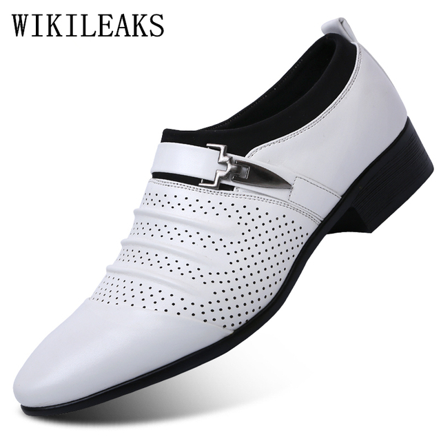 9ffbe809b6 US $18.05 49% OFF|formal men shoes italy leather wedding shoes mens pointed  toe dress shoes designer barand oxford shoes for men sapato masculino-in ...