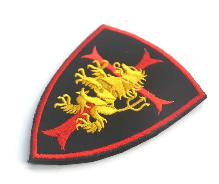 NSWDG NAVY SEAL TEAM 6 Gold Squadron DEVGRU LION CROSS CRUSADER SHIELD SWAT  PATCH BADGE