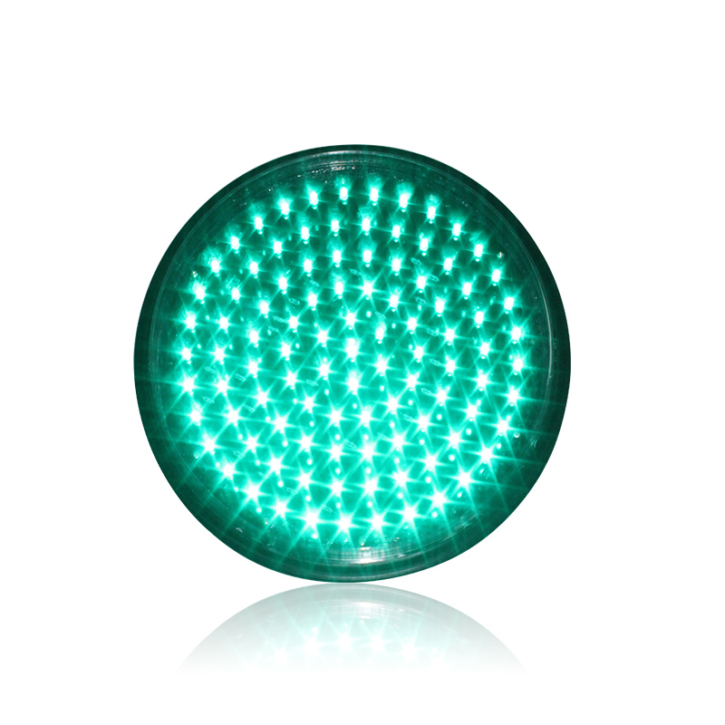 DC12V CE RoHS Approved 300mm Green Traffic Signal Light LED Traffic Replacement Module