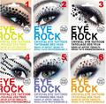EYE MAKEUP Eyeshadow decoration party makeup queen eye shadow stickers crystal rhinestone 3D EYE TATTOOS 1 Pair